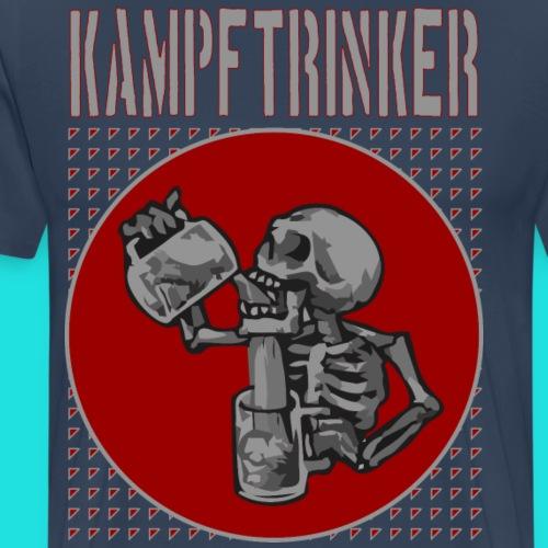 Kampftrinker - Männer Premium T-Shirt