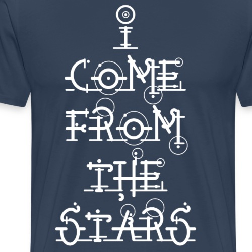 I Come From The Stars - Men's Premium T-Shirt