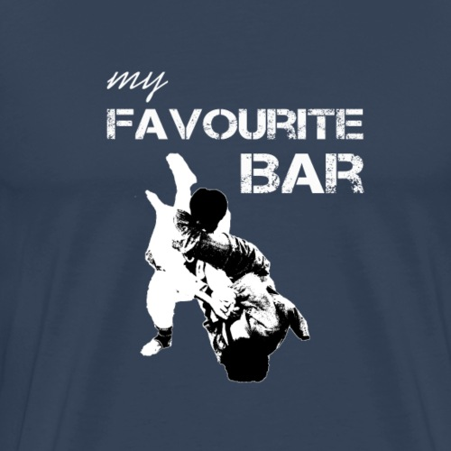 BJJ My Favourite Bar - Men's Premium T-Shirt