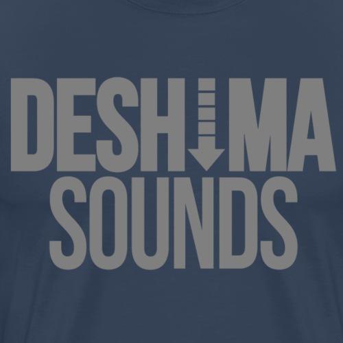 Grey - Mannen Premium T-shirt