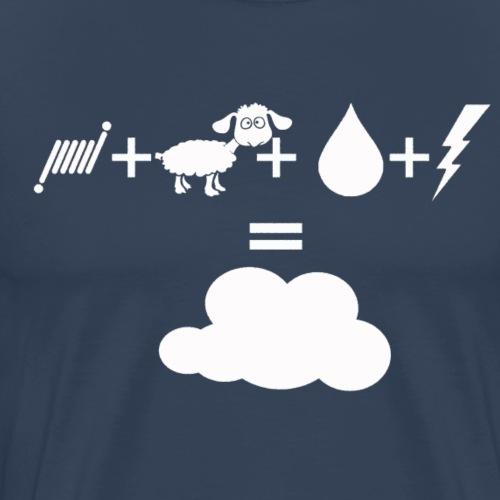 vape ingredients - T-shirt Premium Homme