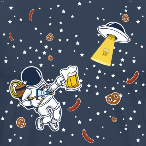 Space beer - Maglietta Premium da uomo
