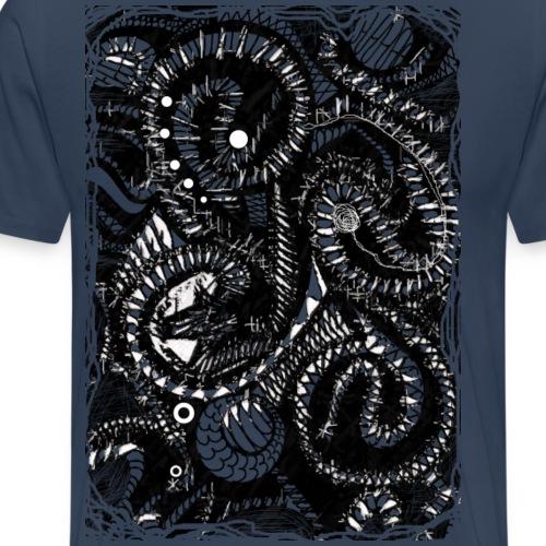 Dunkelheit - Männer Premium T-Shirt