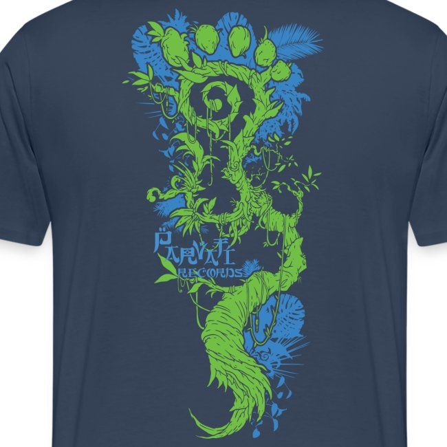 Parvati FootMoss logo in blue & green