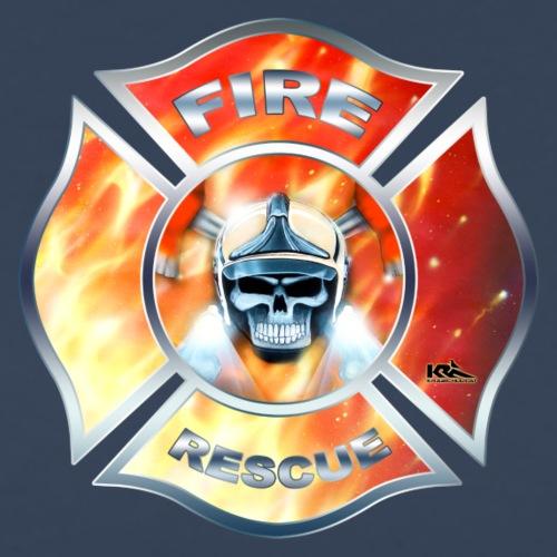 FIRE RESCUE Wappen US.png - Männer Premium T-Shirt