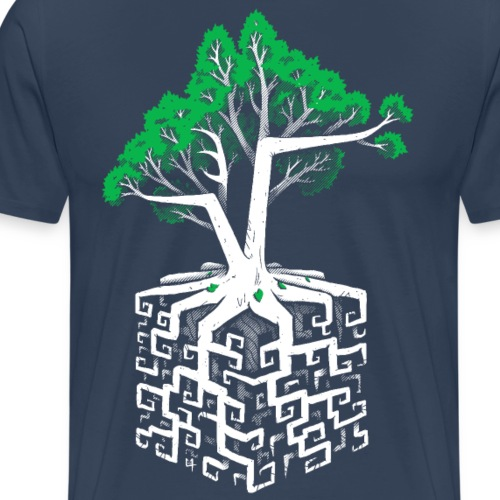 Cube Root - Men's Premium T-Shirt