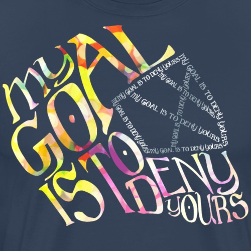 Hockey Goalie Quote - Men's Premium T-Shirt