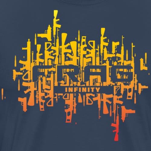 Infinity CS Frag Sunset - Men's Premium T-Shirt