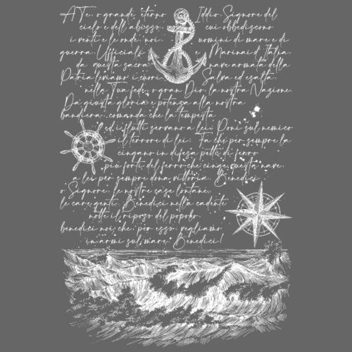 Preghiera del marinaio - Maglietta Premium da uomo