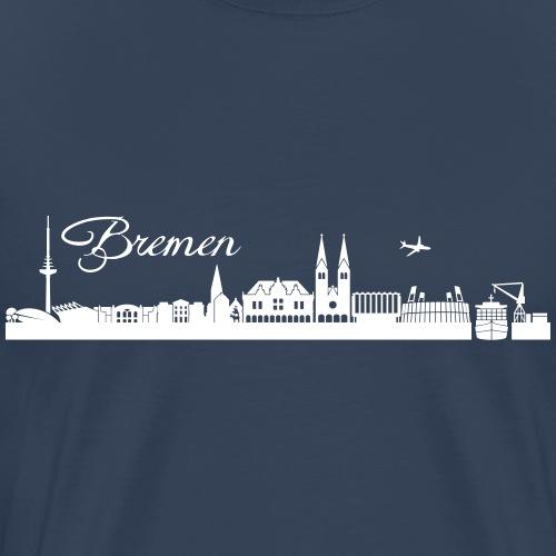 Bremer Skyline - Männer Premium T-Shirt