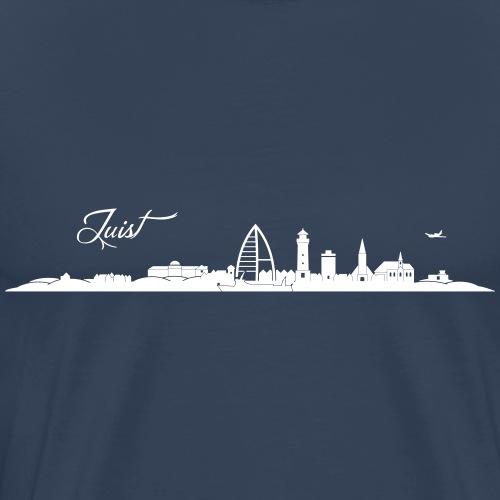 Juister Skyline - Männer Premium T-Shirt