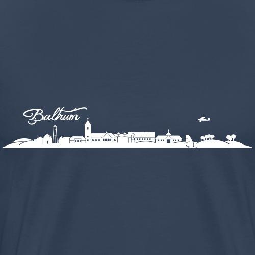 Baltrumer Skyline - Männer Premium T-Shirt
