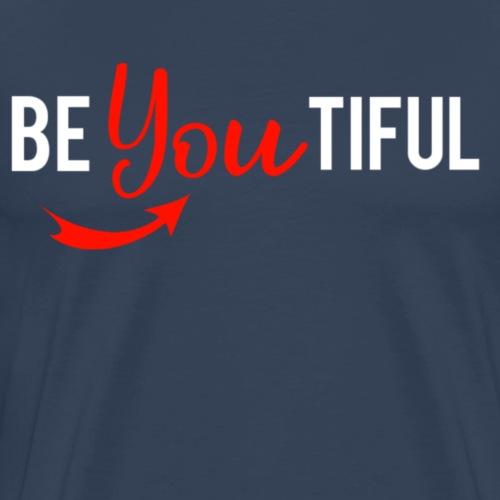 Beautiful - Mannen Premium T-shirt