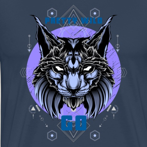 Pretty Wild Cat - Männer Premium T-Shirt