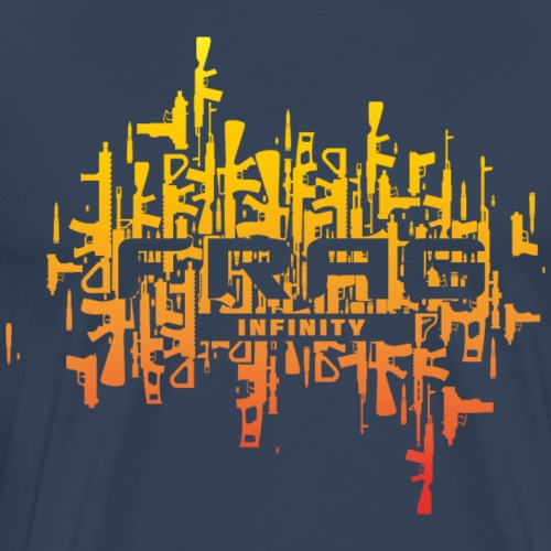 Infinity CS Frag Sunset - Men's Premium T-Shirt