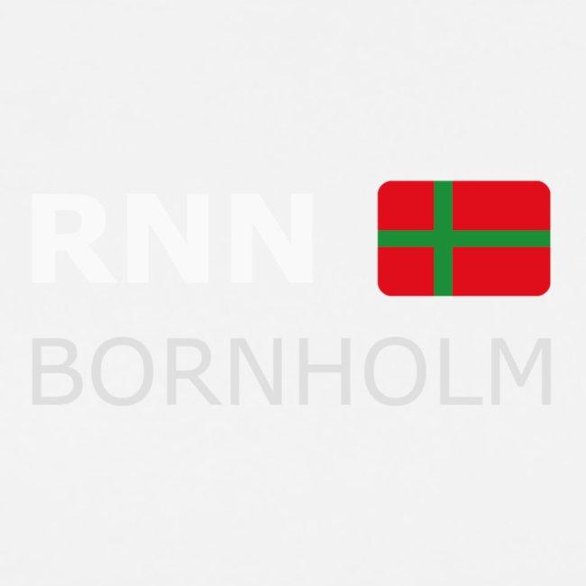 RNN BORNHOLM biały zgłoskami