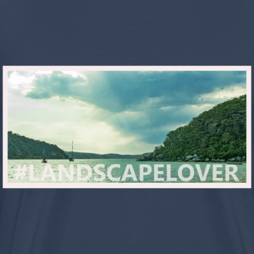 Landscapelover Palm Beach - Men's Premium T-Shirt