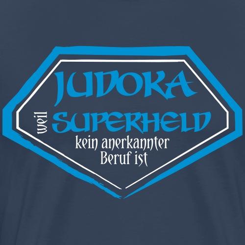 Judoka Superheld - Männer Premium T-Shirt