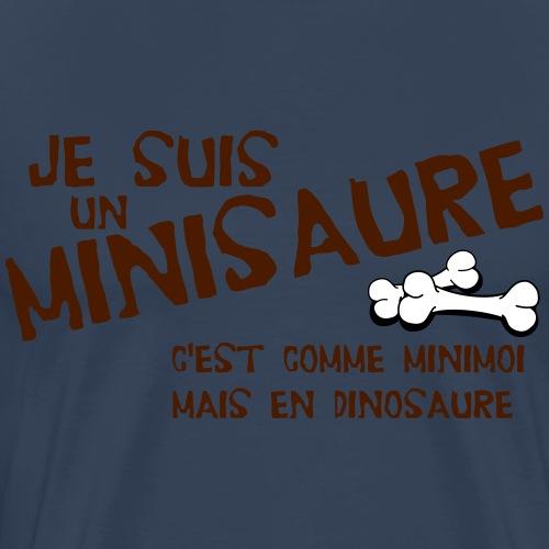 Je suis un minisaure - T-shirt Premium Homme