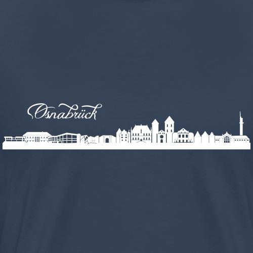Osnabrücker Skyline - Männer Premium T-Shirt