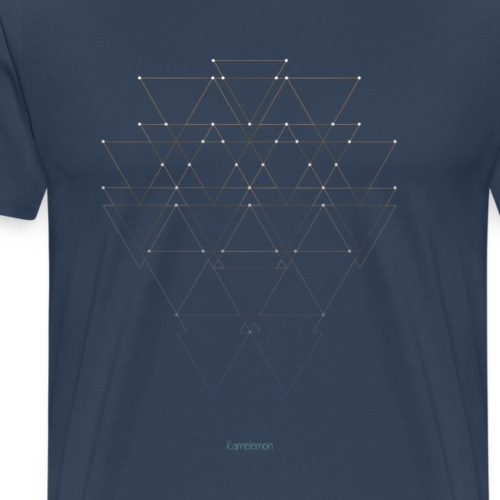 Abstrait - Constellation line - T-shirt Premium Homme
