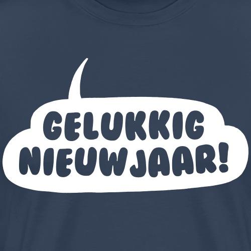 Gelukkig nieuwjaar! - Mannen Premium T-shirt