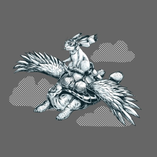 Flying Tortoise - Men's Premium T-Shirt