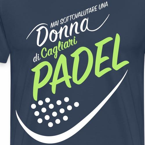 PadelCagliari - Maglietta Premium da uomo