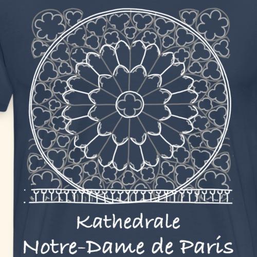 Kathedrale Notre Dame in Paris - Männer Premium T-Shirt