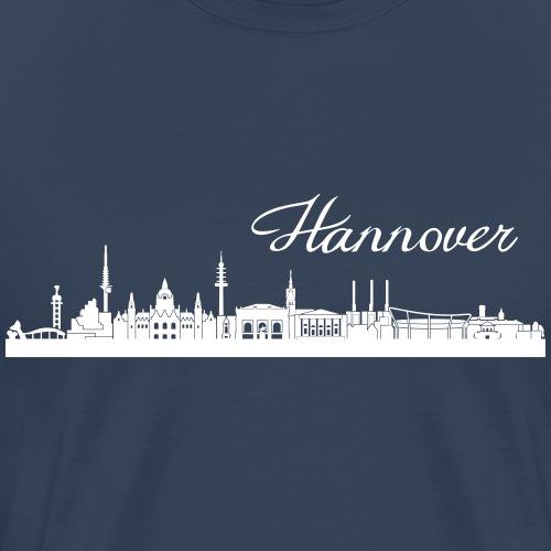 Hannoveraner Skyline - Männer Premium T-Shirt