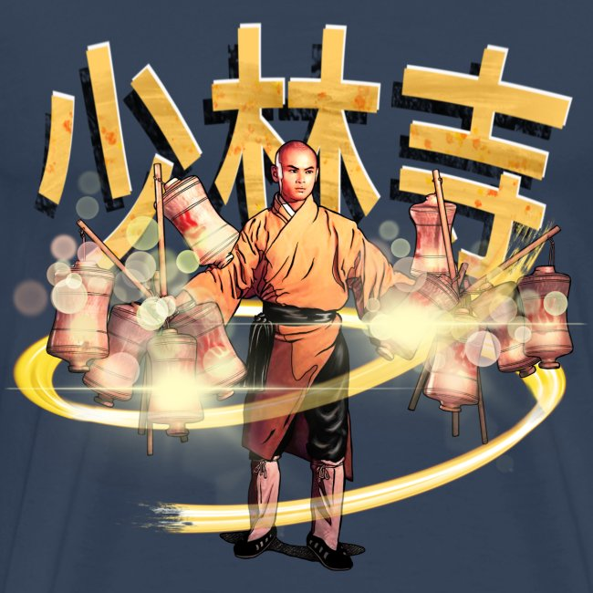Gordon Liu som San Te - Warrior Monk