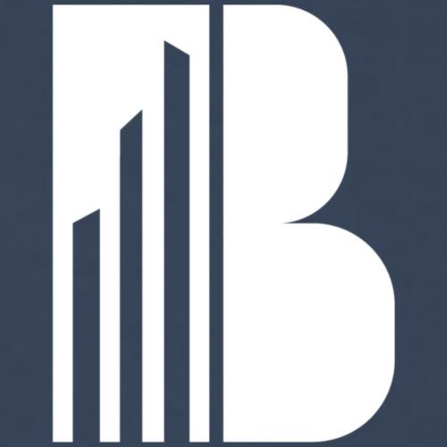 Bricks and the City (white logo) - Maglietta Premium da uomo