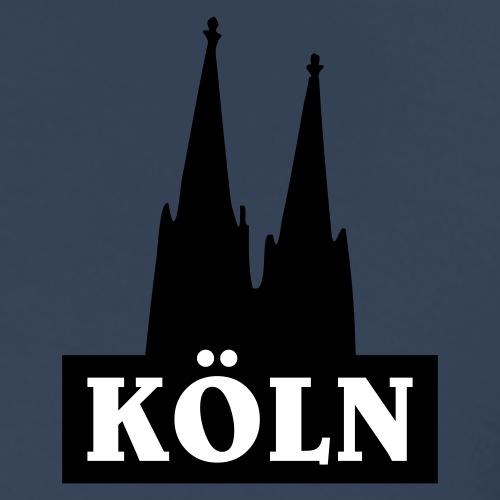 Köln Logo Gold mit dem Kölner Dom - Männer Premium T-Shirt