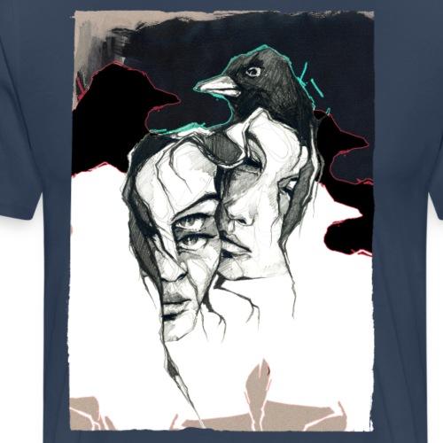 KRÄHEN - Männer Premium T-Shirt