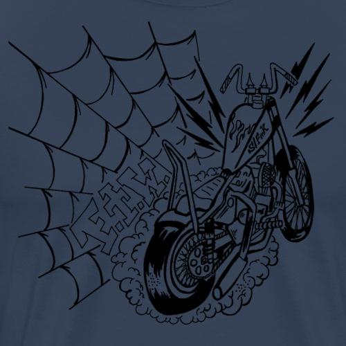 Chopper-Bobber- FTW - schwarz - Männer Premium T-Shirt