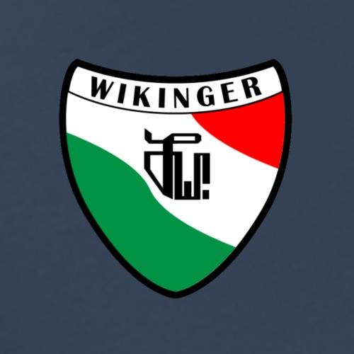 Wappen (vorne) Zirkel, schwarz (hinten) - Männer Premium T-Shirt