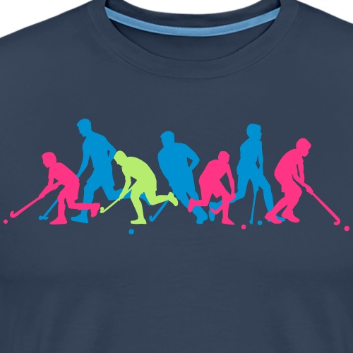 Hockey Player Crew - Mannen Premium T-shirt
