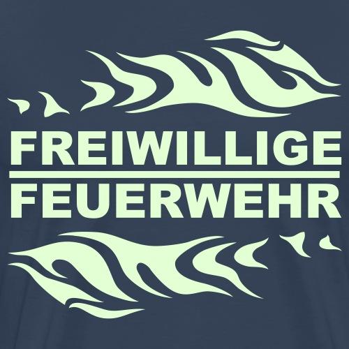 FFW Flame - Männer Premium T-Shirt