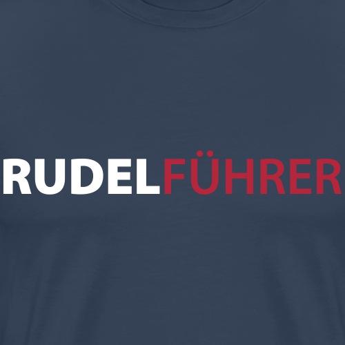 Rudelführer Hunde - Männer Premium T-Shirt