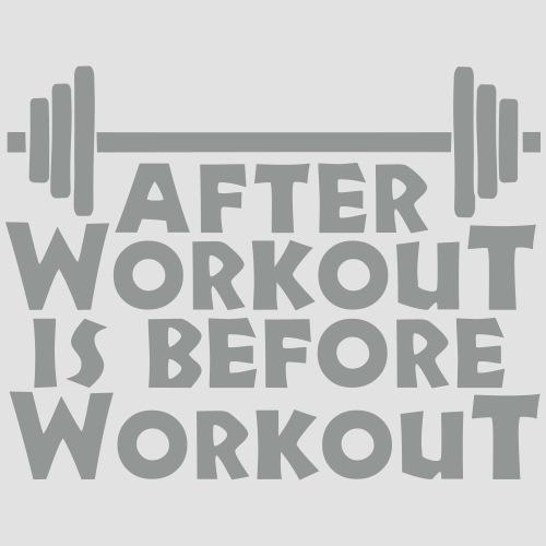 After Workout is before Workout - Männer Premium T-Shirt