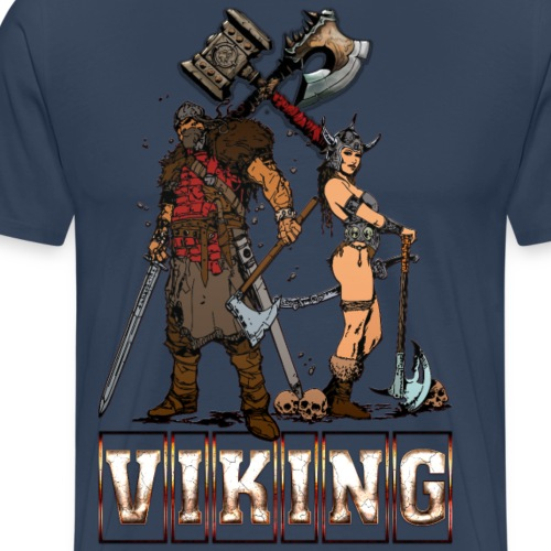 Viking male female - Mannen Premium T-shirt