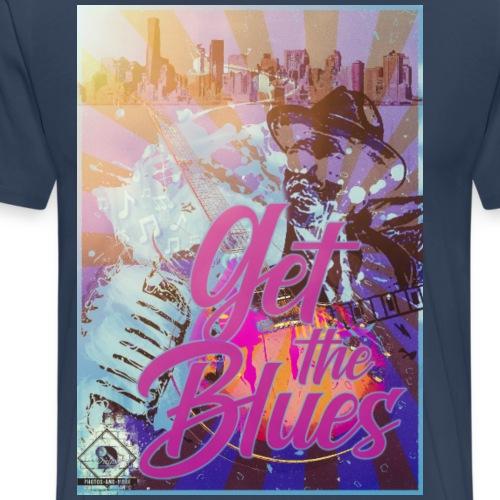 blues - Männer Premium T-Shirt