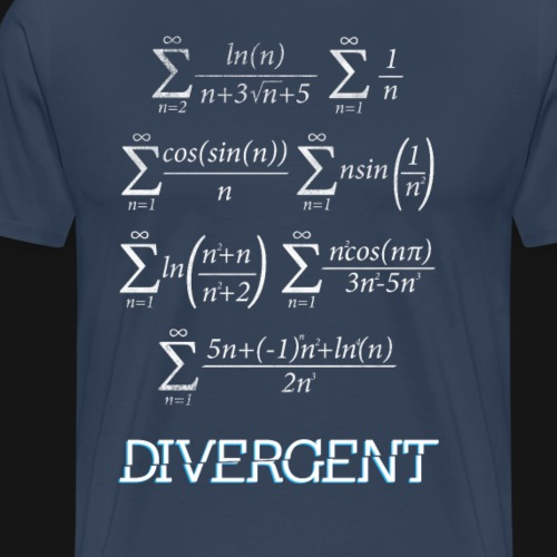 Divergent - Maglietta Premium da uomo