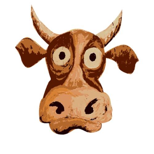 Puzzled cow - Maglietta Premium da uomo