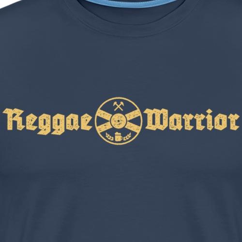 Reggae Warrior - Camiseta premium hombre