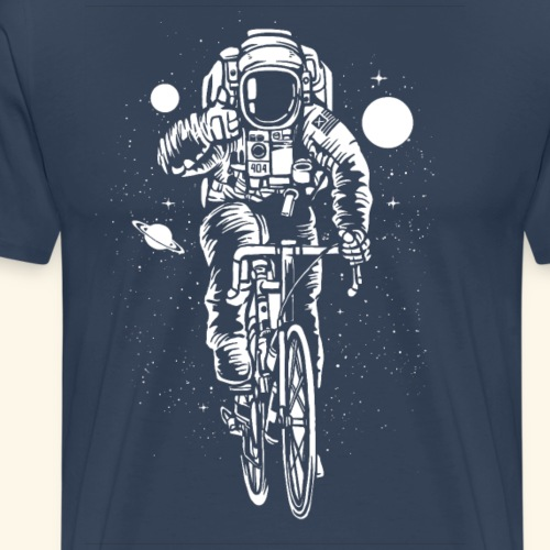 Astronaut Bicycle - Männer Premium T-Shirt