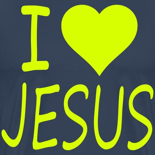 I love Jesus - Männer Premium T-Shirt