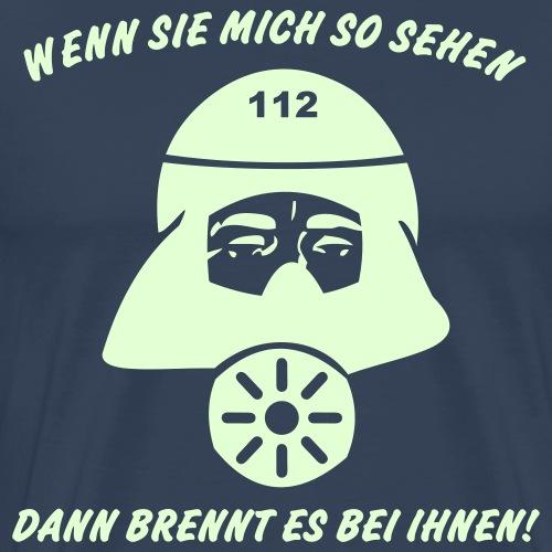 Es brennt bei ihnen! - Männer Premium T-Shirt