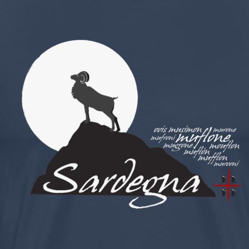 Mufflon Sardinia - Maglietta Premium da uomo