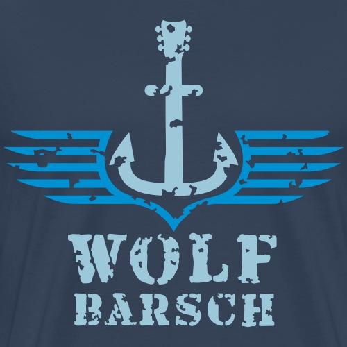 wolf_barsch_logo_122015_2c - Männer Premium T-Shirt